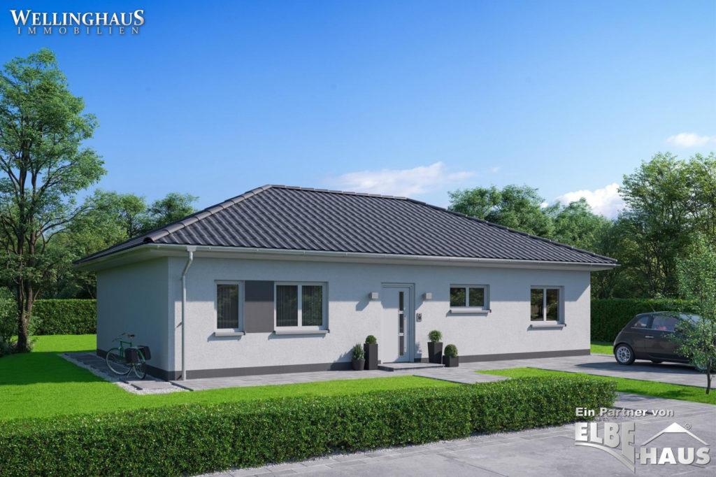 ELBE-Haus Bungalow JL-3-153 Front