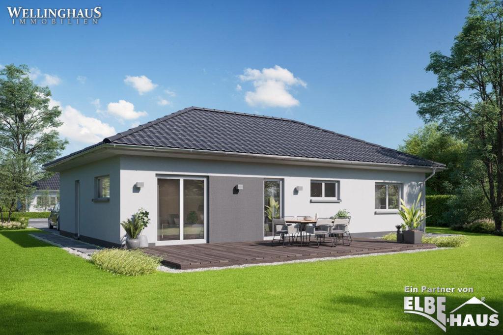 ELBE-Haus Bungalow JL-3-153 Terrasse