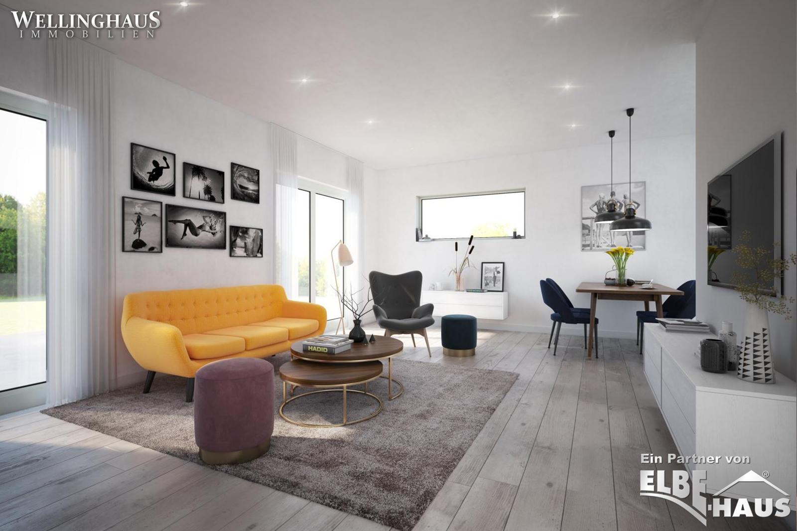 ELBE-Haus Bungalow JL-3-153 Wohnen