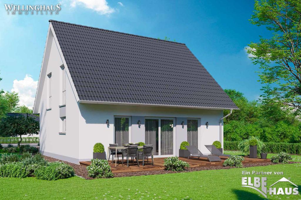 Junges Wohnen ELBE-HAUS JL-1-129 Terrasse -Garten
